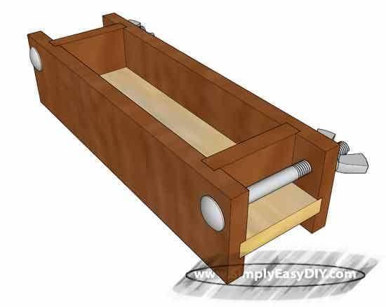 11. DIY Wooden Soap Mold