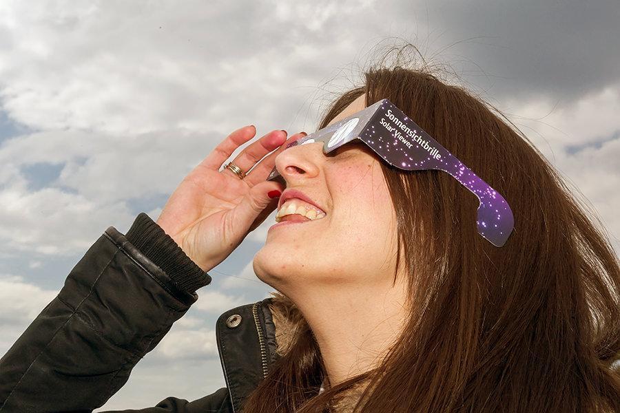 12. DIY Cheap Solar Eclipse Glasses