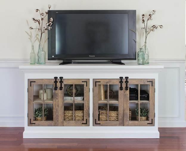12. DIY TV Mount