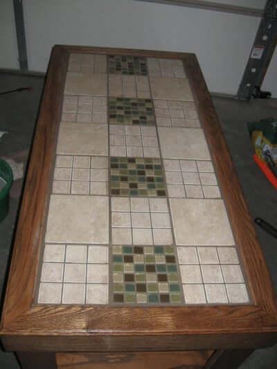 12. Tile Table Top DIY