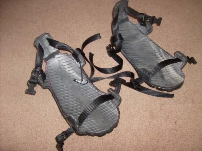 12. Tire Sandal DIY