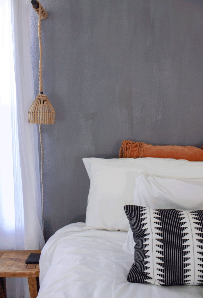 13. Boho DIY Wall Sconce