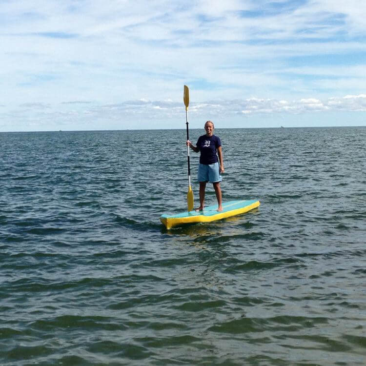 13. Easy Stand Up Paddle Board