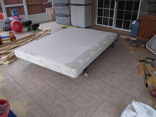13. Rebuilding A Bed Foundation