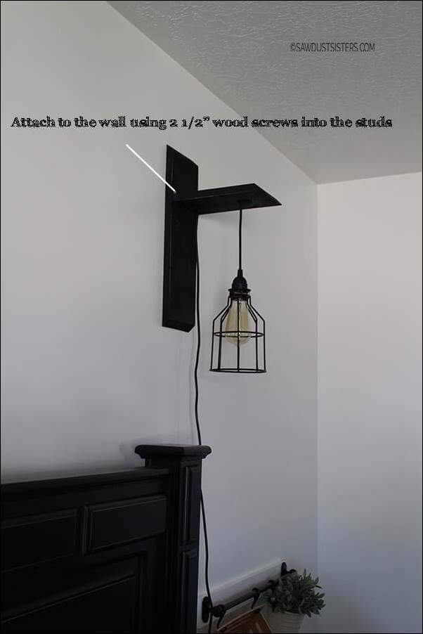 14. DIY Custom Wall Sconce