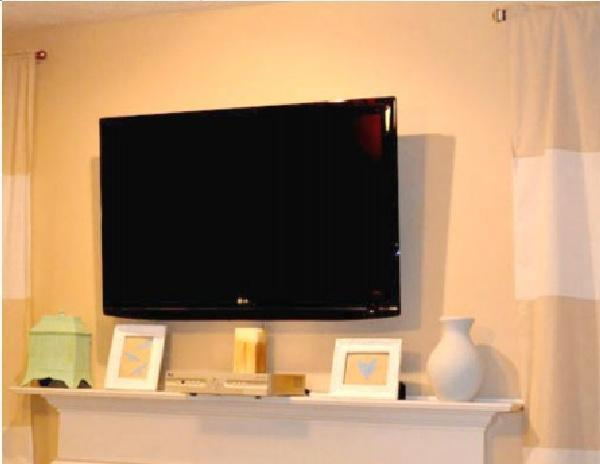 14. DIY TV Wall Mount