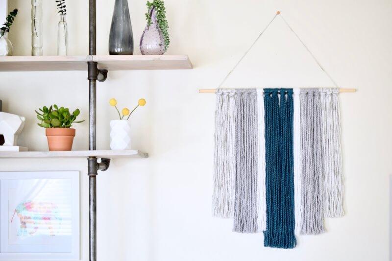 14. DIY Yarn Tapestry