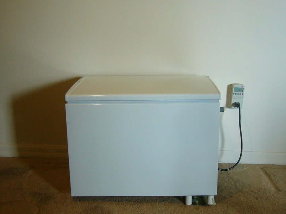 14. DIY conversion of Refrigerator to Chest Refrigerator