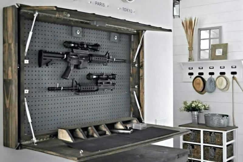 14. Handyman tips on making a DIY Gun Cabinet