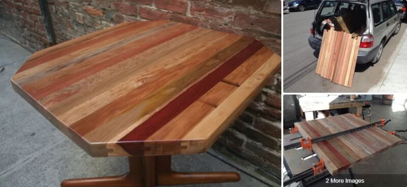 14. Tongue and Groove Table Top DIY