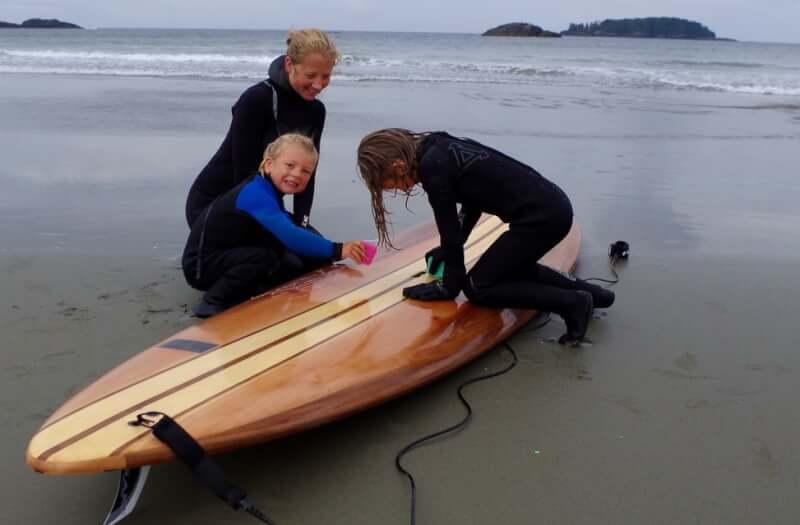 14. Wood DIY Paddle Board