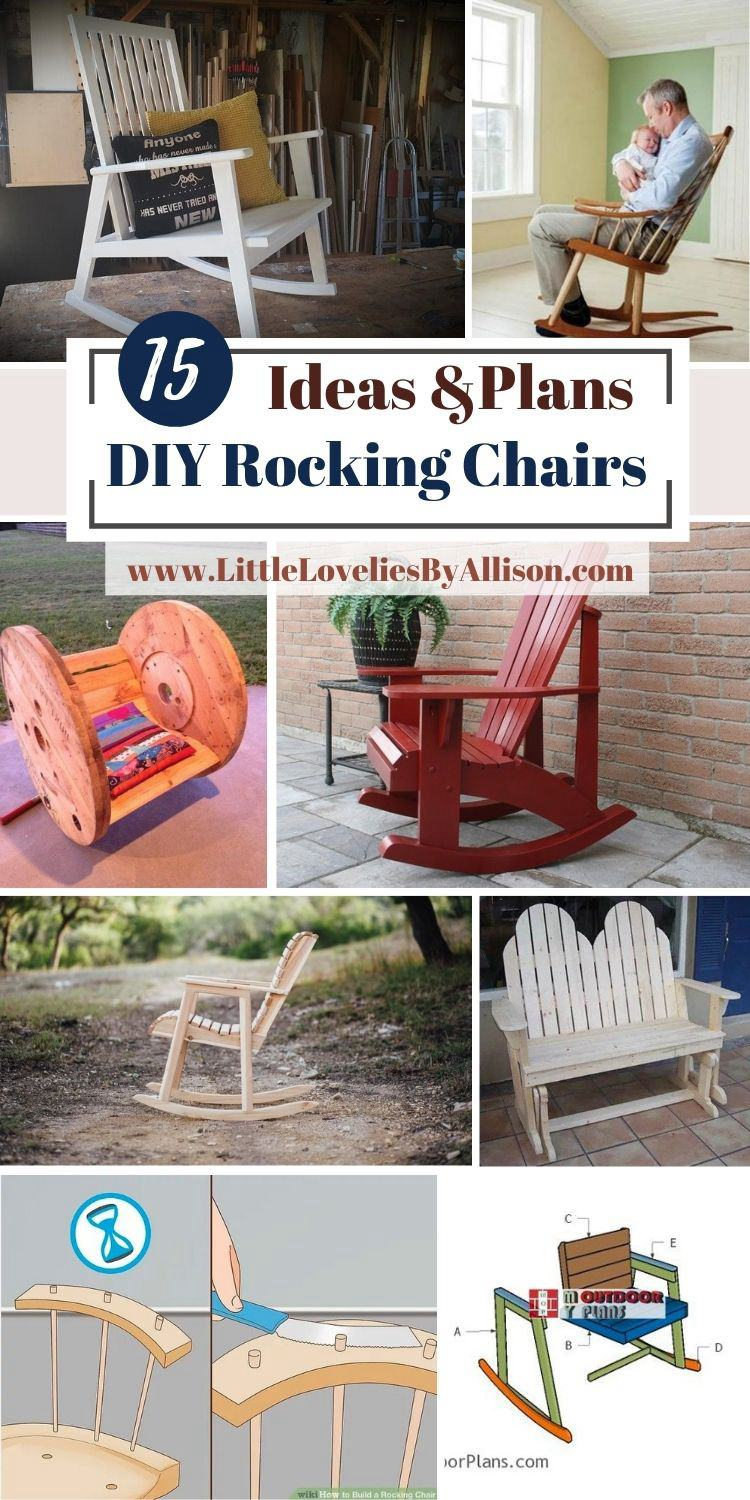 15 DIY Rocking Chairs Plans_ How To Build A Rocking Chair