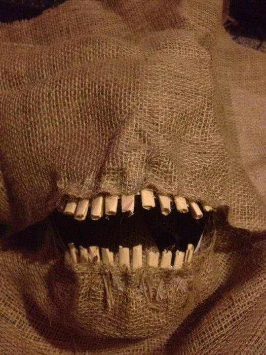 15. How To Make A Scary Scarecrow Mask
