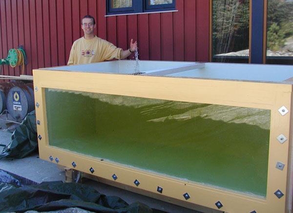 16. DIY Large Plywood Aquarium