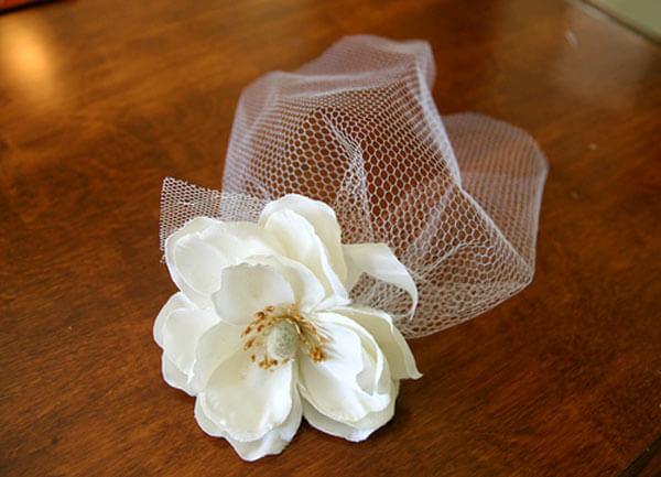 17. DIY Birdcage Veil