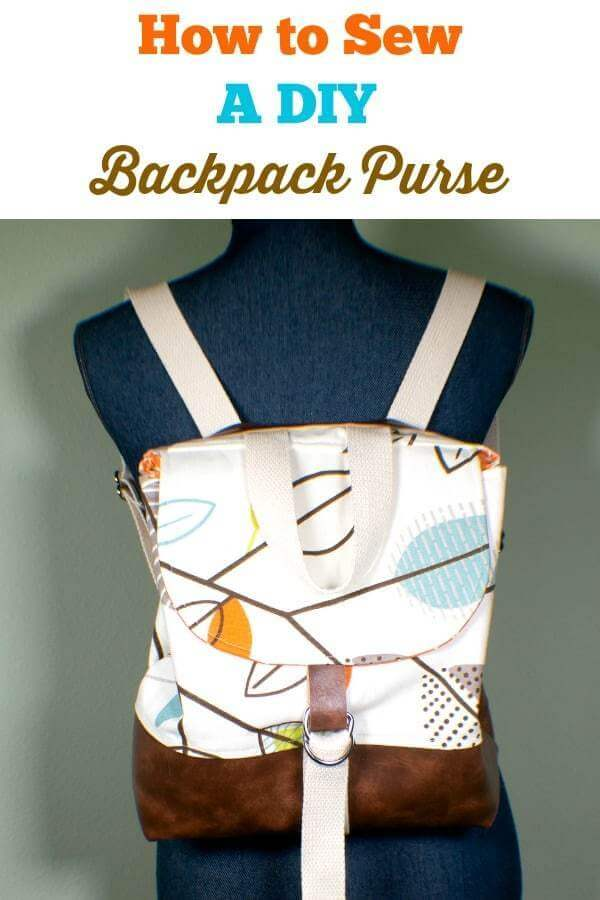 17. How To Sew A Backpack