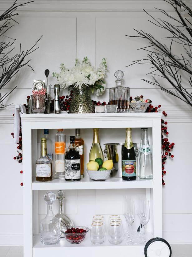 18. DIY Making a Liquor Cabinet from a Book Shelf