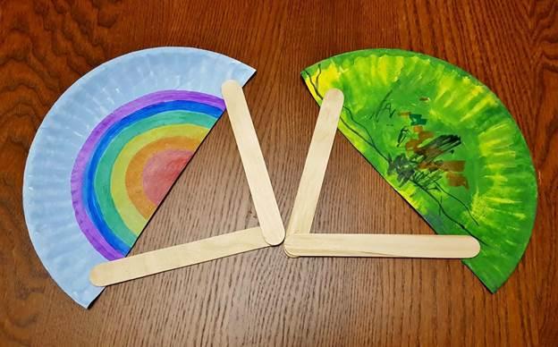 18. DIY Paper Plate Fan