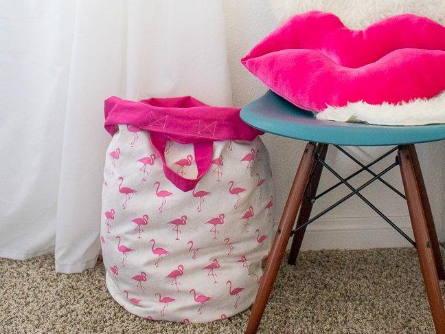 18. DIY Washable Laundry Hamper