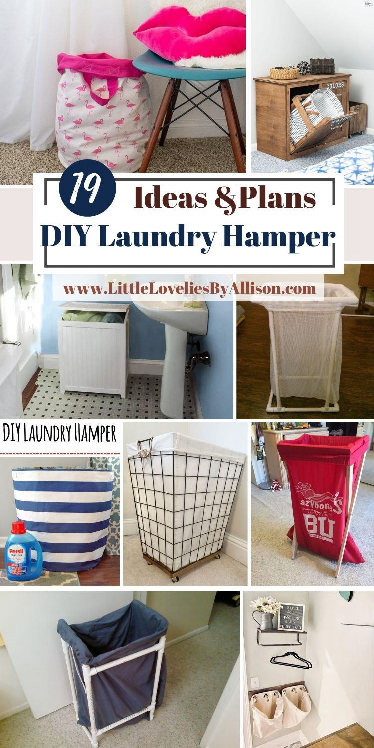 19 DIY Laundry Hamper Ideas For Your Clothes