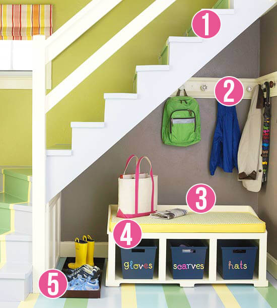 19. The underneath staircase solution