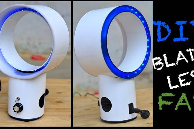 2. DIY Bladeless Fan
