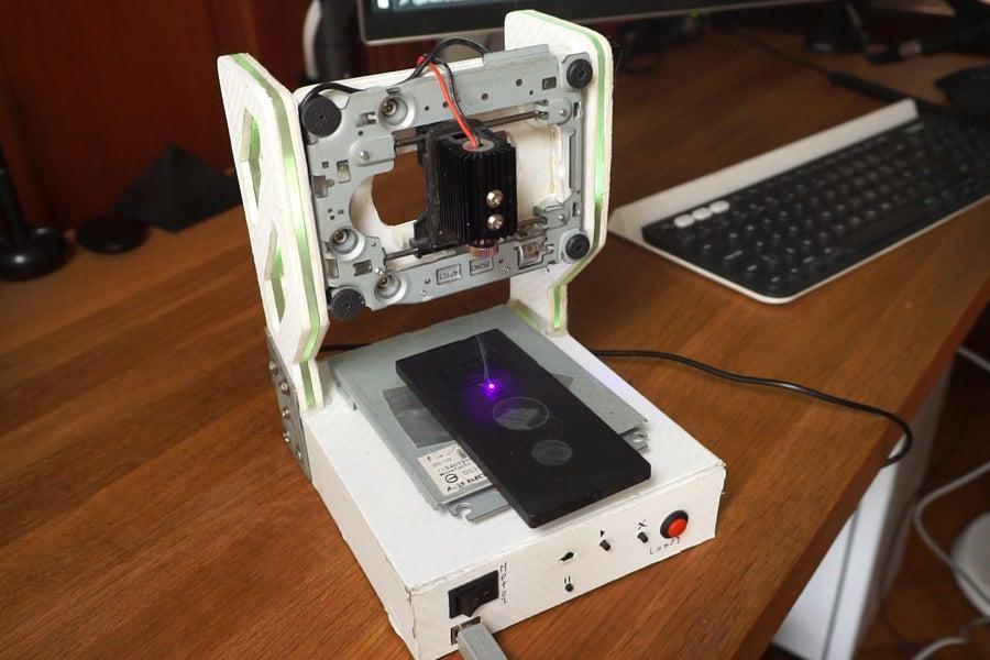 2. DIY Laser Engraver WIth RGB