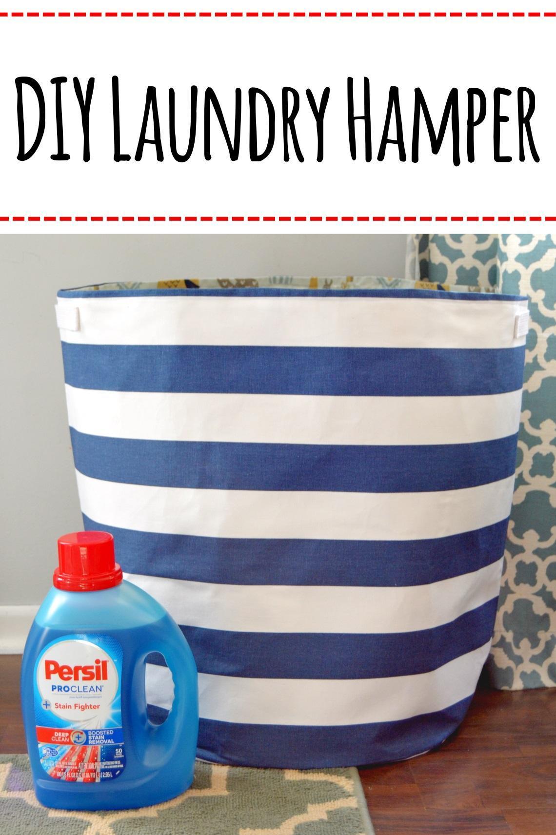 2. DIY Laundry Hamper
