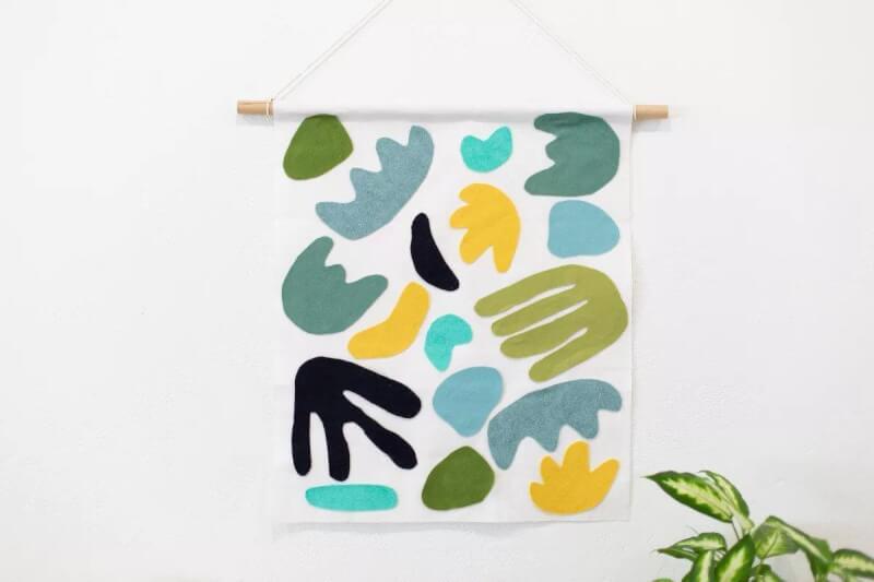 2. DIY Tapestry Tutorial