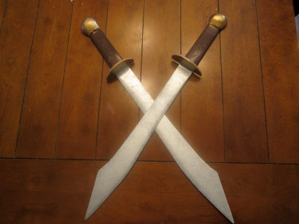 2. Zuko's Dual Dao Swords DIY