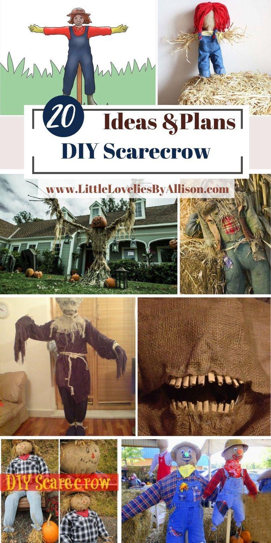 20 DIY Scarecrow Ideas_ How To Make A Scarecrow