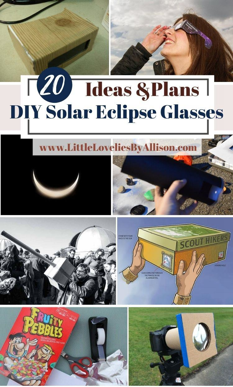 20 DIY Solar Eclipse Glasses For Safe Viewing