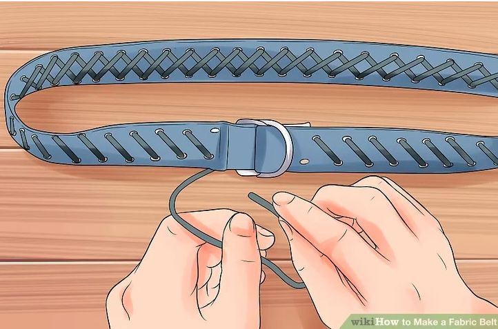 20. How To Make A Fabric Belt