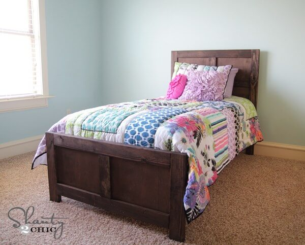 20. Pottery Barn Inspired Bed
