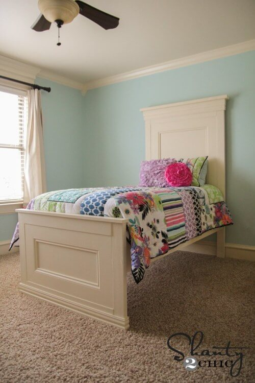 21. Twin bed for kids
