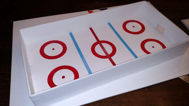 22. Hockey Rink Table Top DIY