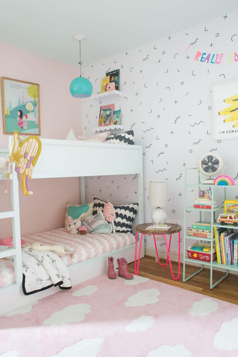 23. A riser bed bunk