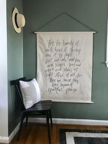 24. DIY Tapestry
