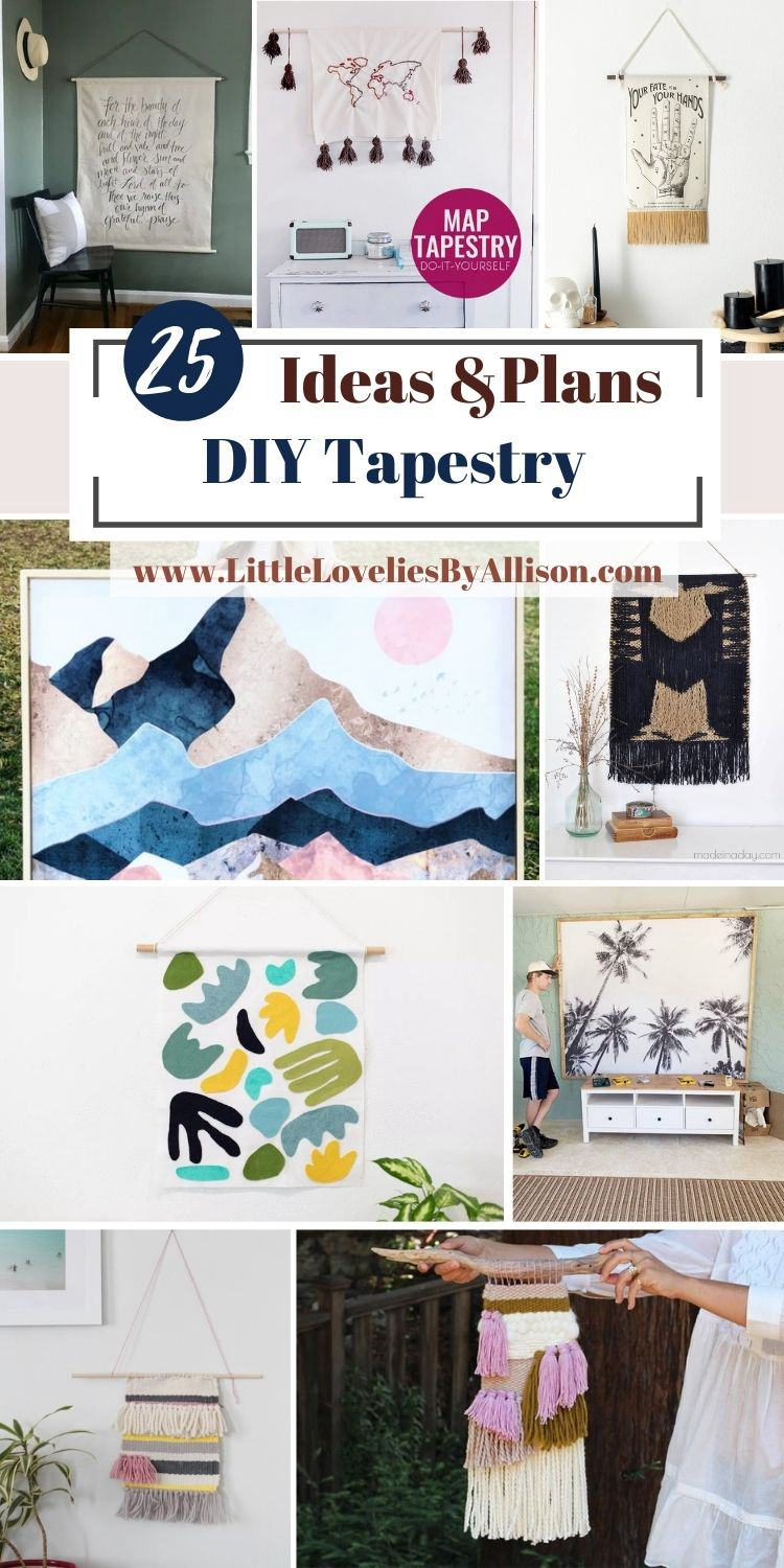25 DIY Tapestry Ideas You Can DIY Easily