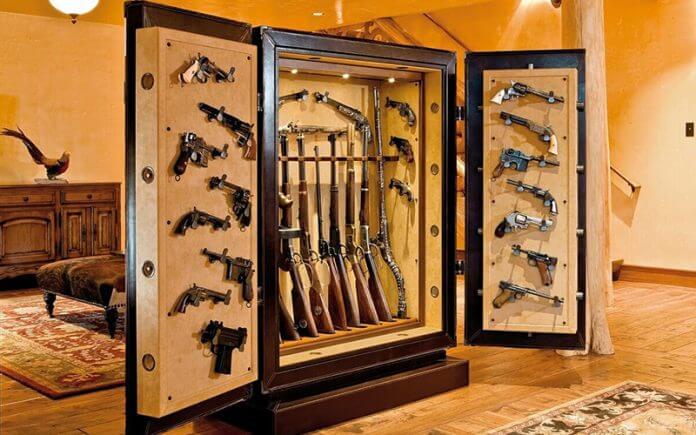 25. DIY Gun safe room