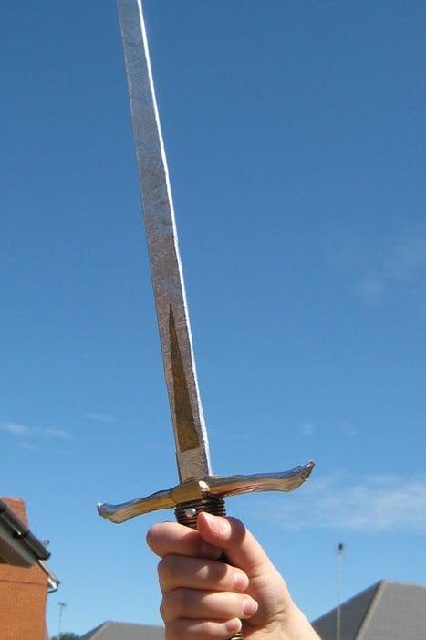 25. Prince Caspian's Sword DIY
