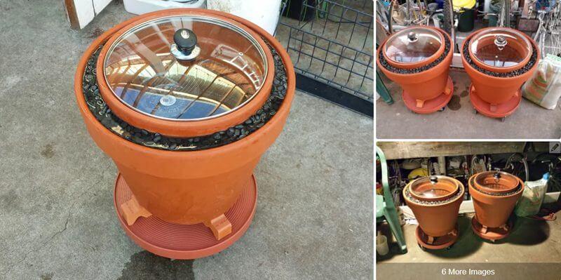 3. Advanced Zeer Pot Refrigerator DIY
