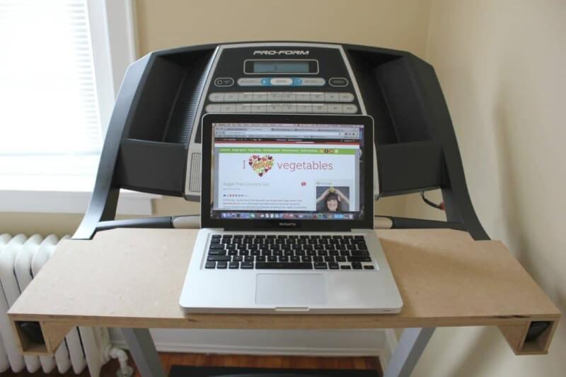 3. Board DIY Treadmill Desk