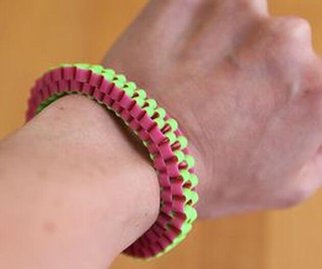 3. DIY Lanyard Bracelet