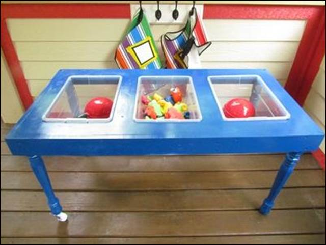 3. Homemade Sensory Table DIY