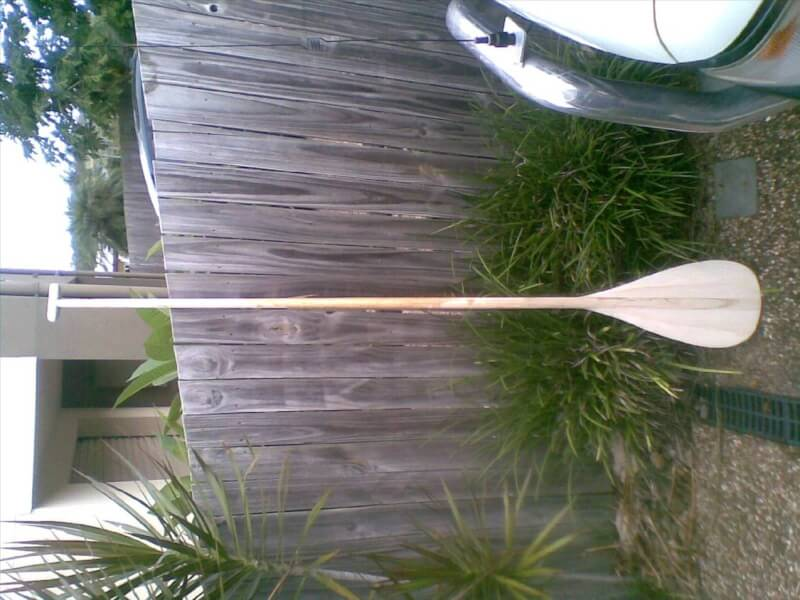 3. Long DIY Paddle Board