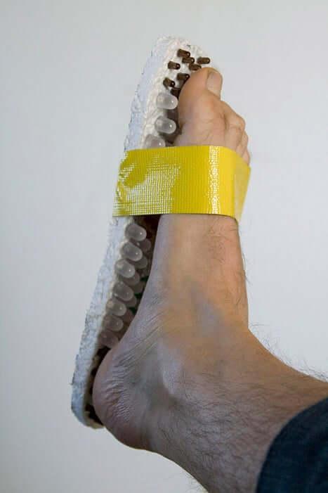 35. LED Super Geek Sandal DIY