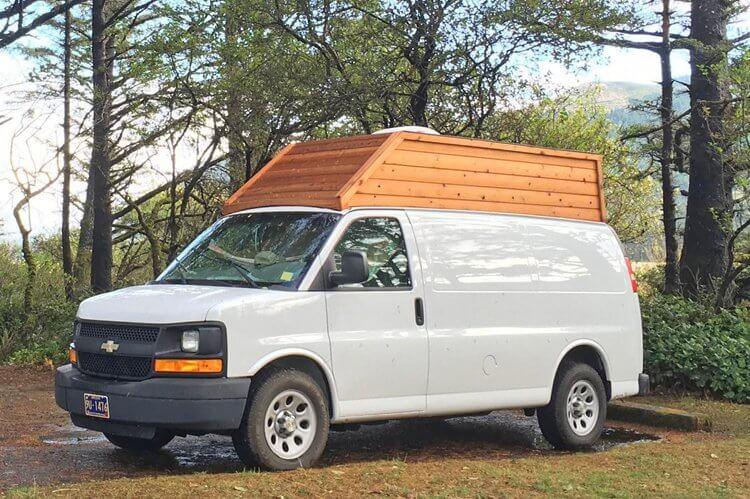 4. DIY Van High Top