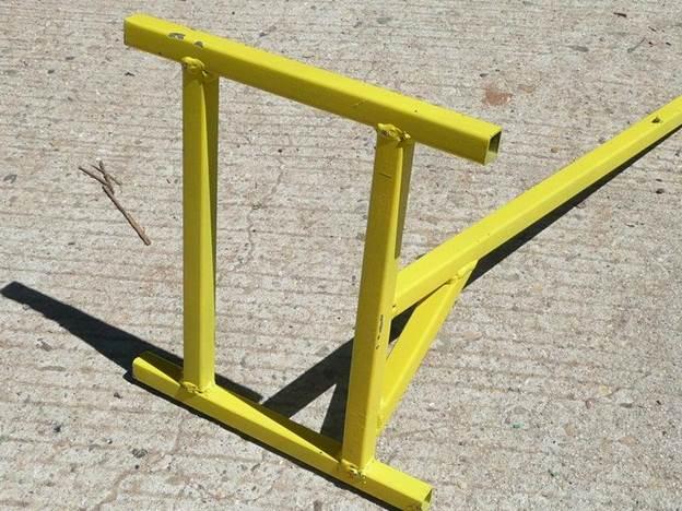 4. DIY Vintage Motorcycle Stand