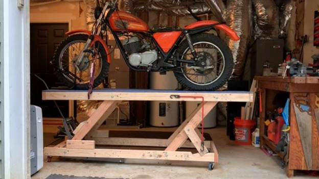 4. How To Build A Motorcycle Lift